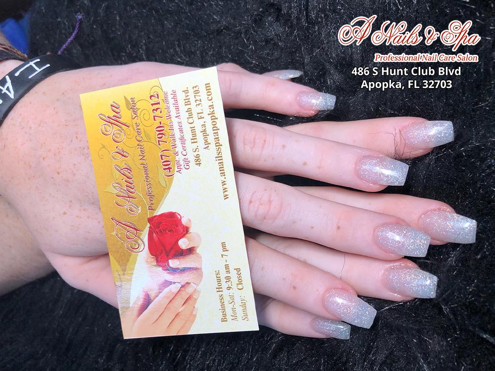 A Nails & Spa - Nail salon Apopka, FL 32703